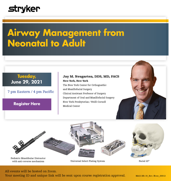 Airway Management from Neonatal to Adult Dr. Neugarten Cover Image