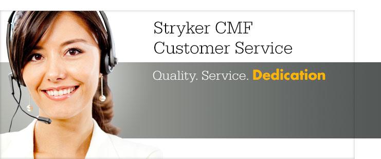 Stryker CMF Customer Service