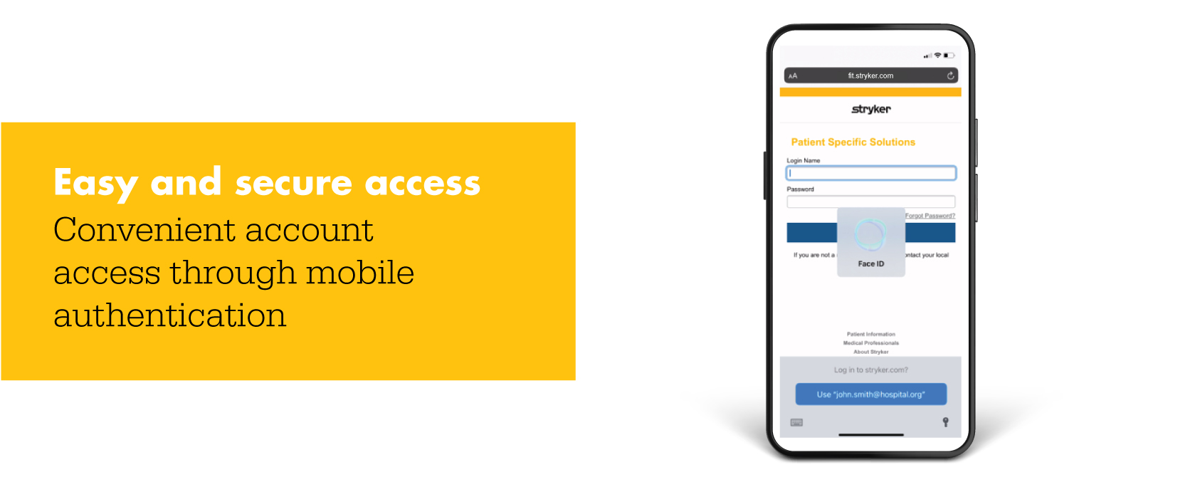 Easy and secure access