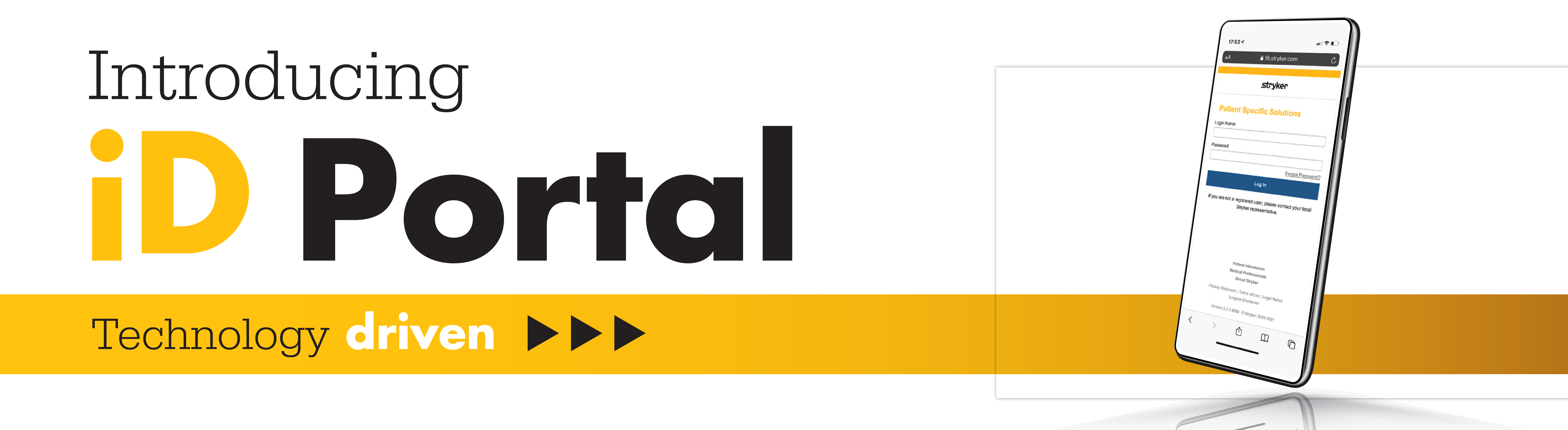 iD Portal Banner